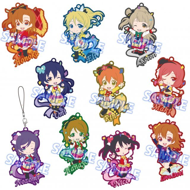 Toys Works Collection Niitengomu! Love Live! The School Idol Movie (Set of 10 pieces)