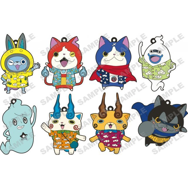 Youkai Watch the Movie Rubber Strap Collection (Set of 10 pieces)