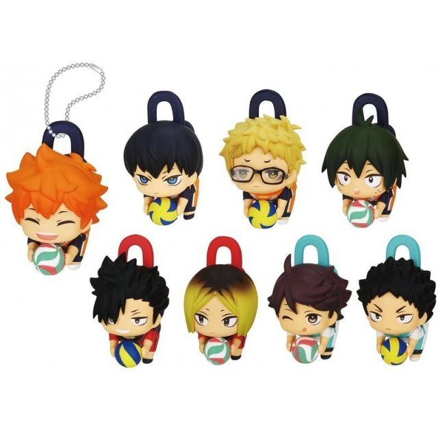 Deformed Clip Haikyu!! Second Season (Set of 8 pieces)
