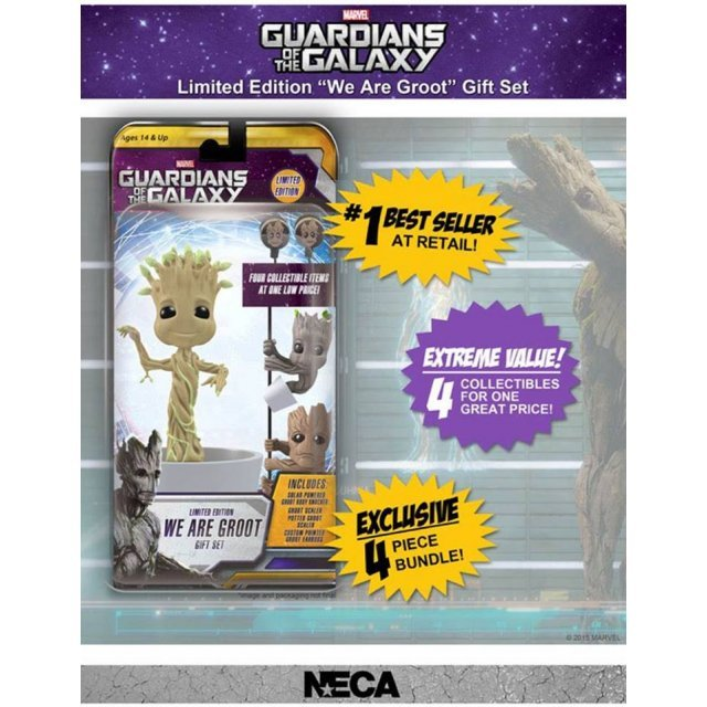 NECA Guardians of the Galaxy: We are Groot Gift Pack (Limited Edition)