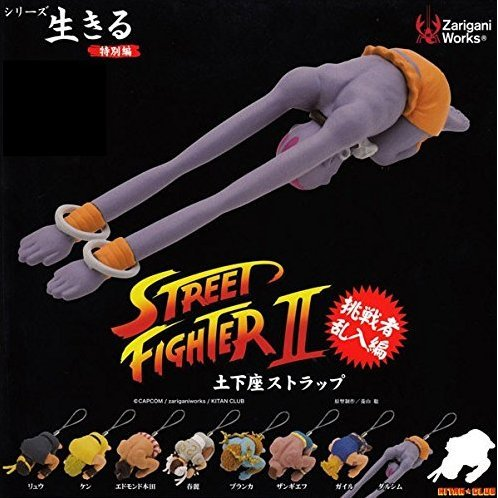 Street Fighter II: Kneeling on Ground Strap 2.0 (Random Single)
