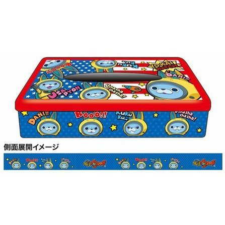 Youkai Watch Box Tissue Can 07: USA-pyon BC