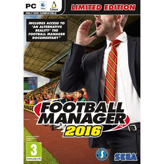 Football Manager 2016 (DVD-ROM)