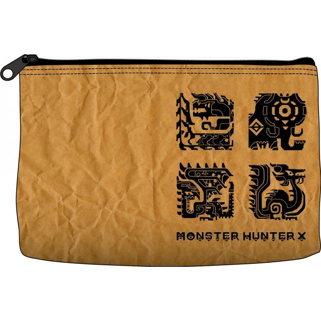 Monster Hunter X Paper Like Multi Pouch: Craft
