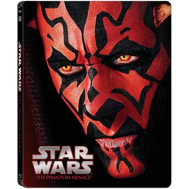 Star Wars: Episode I - The Phantom Menace [SteelBook]