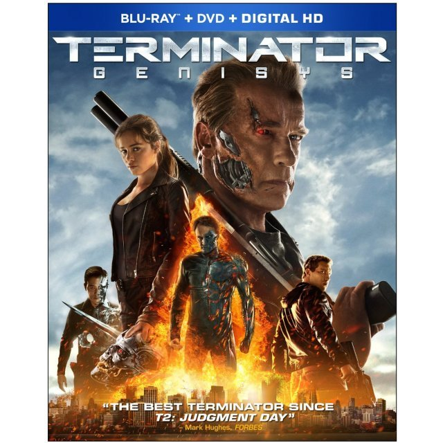 Terminator: Genisys [Blu-ray+DVD+Digital Copy+UltraViolet]