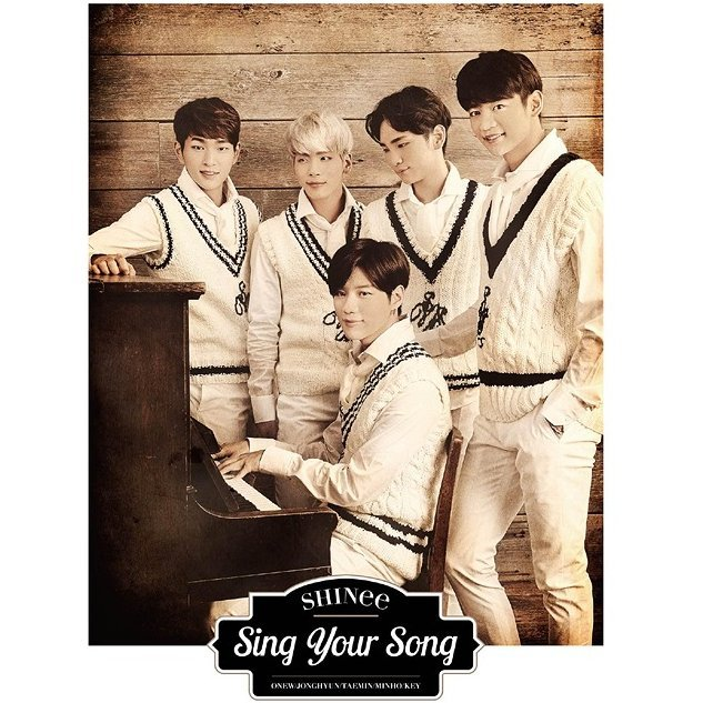 Sing Your Song [CD+DVD Limited Edition]