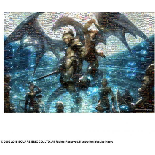 Final Fantasy XI 1000 Piece Jigsaw Puzzle Mosaic Art