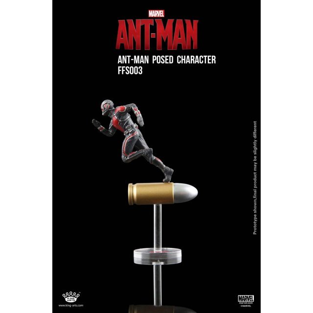 King Arts Format Figure Series: Ant Man Posed Character with Bullet