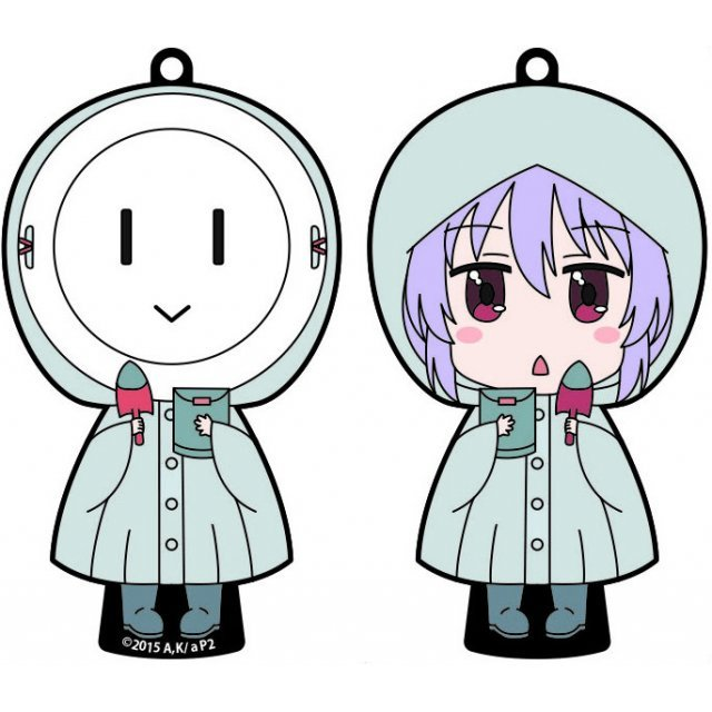 Non Non Biyori Repeat Front and Back Rubber Strap: Rainy Day Renchon