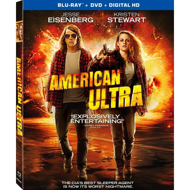 American Ultra [Blu-ray+DVD+UltraViolet]