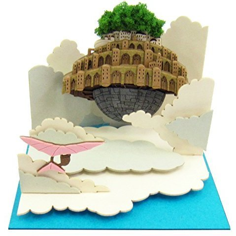 Miniatuart Kit Studio Ghibli Mini Laputa Castle in the Sky: Laputa in the Sky