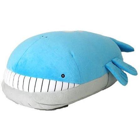 Pocket Monsters Mochifuwa Cushion: PZ03 Whaloh