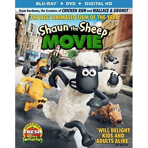 Shaun the Sheep: The Movie [Blu-ray+DVD+UltraViolet]