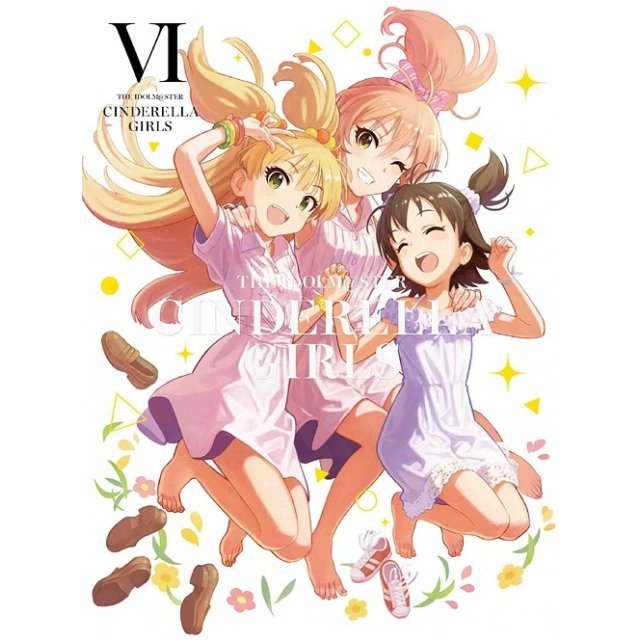 Idolm@ster Cinderella Girls Vol.6 [DVD+CD Limited Edition]