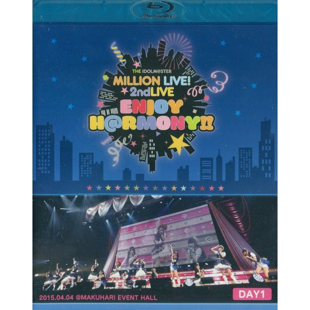 Idolm@ster Million Live! 2nd Live Enjoy H@rmony!! Live Blu-ray Day1