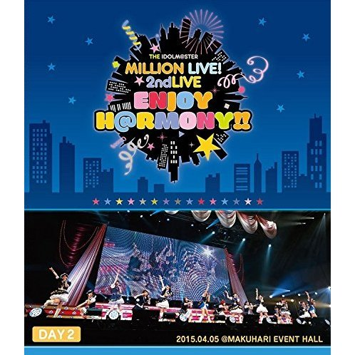 Idolm@ster Million Live! 2nd Live Enjoy H@rmony!! Live Blu-ray Day2