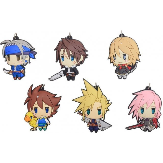 Final Fantasy Trading Rubber Strap Vol. 1 (Set of 6 pieces) (Re-run)