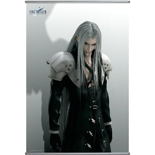 Final Fantasy VII Advent Children Wall Scroll Poster: Sephiroth (Re-run)