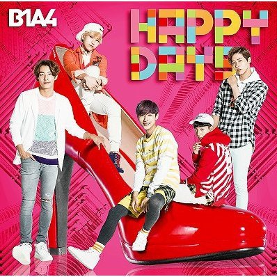 Happy Days [CD+DVD Limited Edition Type B]