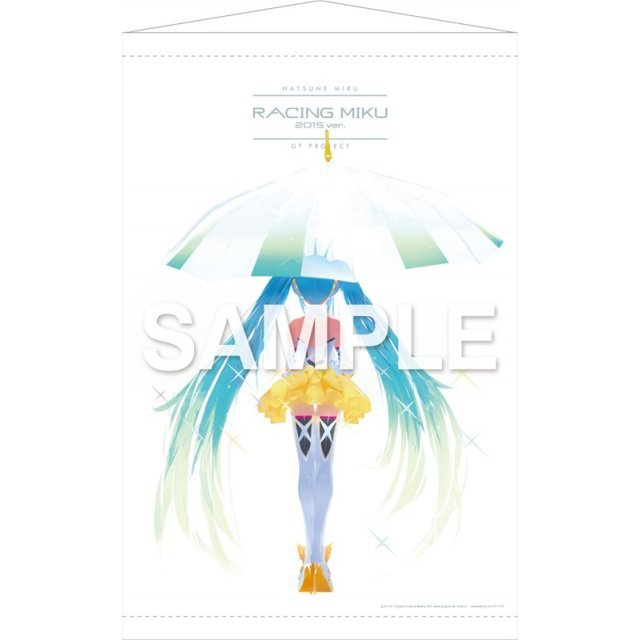 Hatsune Miku GT Project Wall Scroll 5: Hatsune Miku Racing Ver. 2015