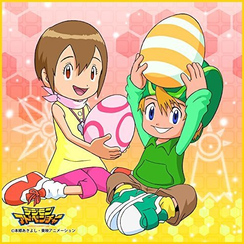 Digimon Adventure Microfiber Mini Towel: Takeru & Hikari