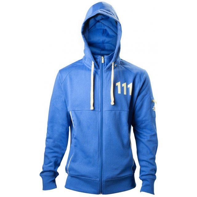 Fallout 4 Vault 111 Blue Hoodie (L)