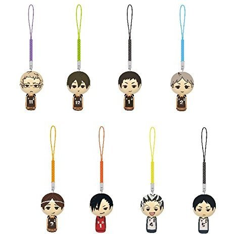 Haikyu!! Kokeshi Netsuke Vol.2 (Set of 8 pieces)