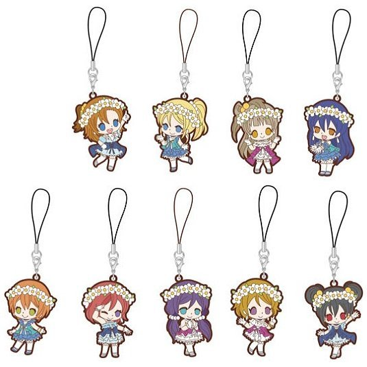 Love Live! Rubber Strap Yume no Tobira Ver. (Set of 9 pieces)
