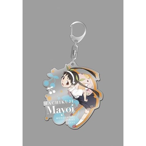 Monogatari Series Second Season Big Acrylic Key Ring: Hachikuji Mayoi Anime Ver.