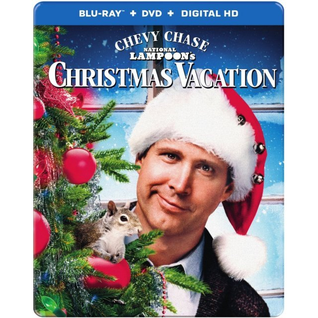 National Lampoon's Christmas Vacation (SteelBook) [Blu-ray+DVD+UltraViolet]