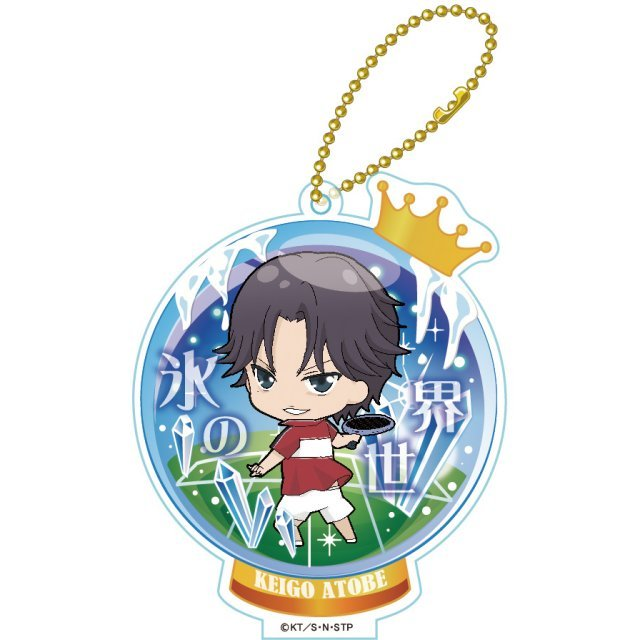 New The Prince of Tennis TojiColle Acrylic Keychain Vol. 1 (Set of 6 pieces)
