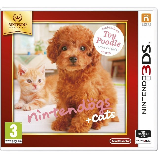 Nintendogs + Cats: Toy Poodle & New Friends (Nintendo Selects)