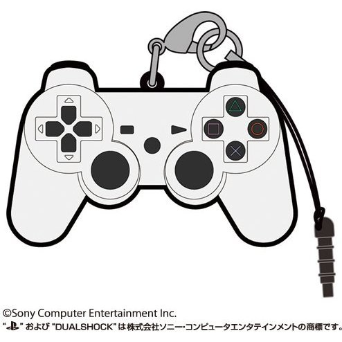 PlayStation Family Mark Rubber Strap: Dualshock 3