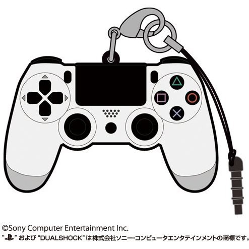 PlayStation Family Mark Rubber Strap: Dualshock 4