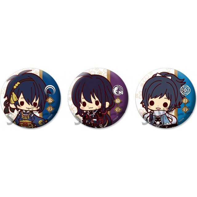 Trading Badge Collection Touken Ranbu Sakurai Ver.1 (Set of 20 pieces)