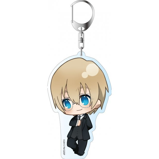 Blood Blockade Battlefront ED Ver. Deka Key Chain: Black