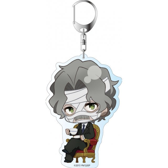 Blood Blockade Battlefront ED Ver. Deka Key Chain: Gilbert F. Altstein