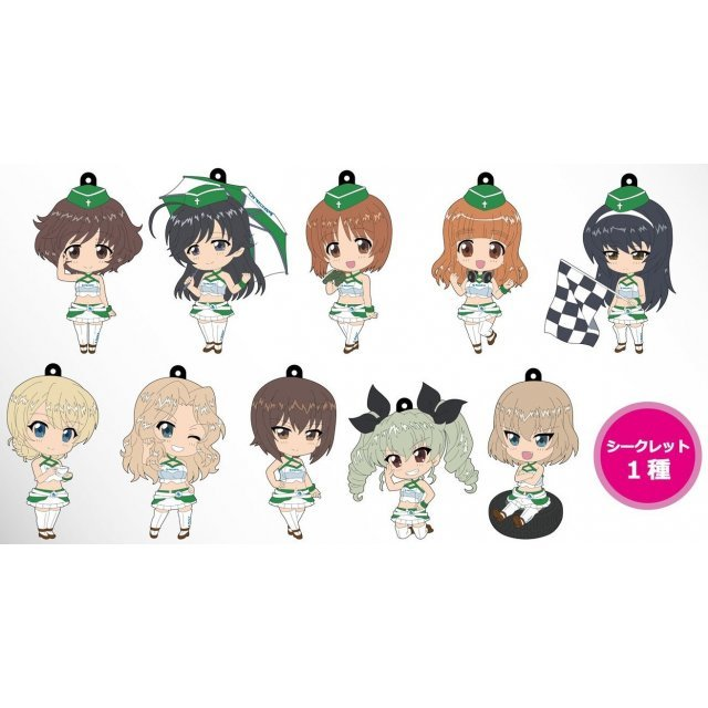Girls und Panzer Rubber Strap: 2015 Race Queen Ver. (Set of 11 pieces)
