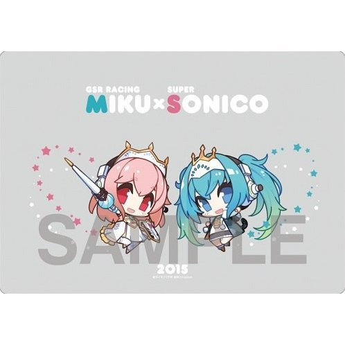 Hatsune Miku GT Project Racing Miku x Super Sonico Mouse Pad 1