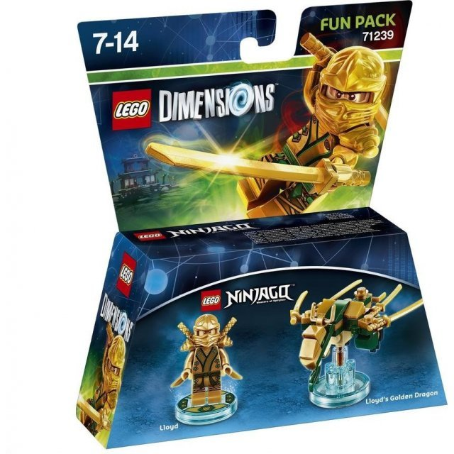 LEGO Dimensions Fun Pack: Lloyd (Gold Ninja)