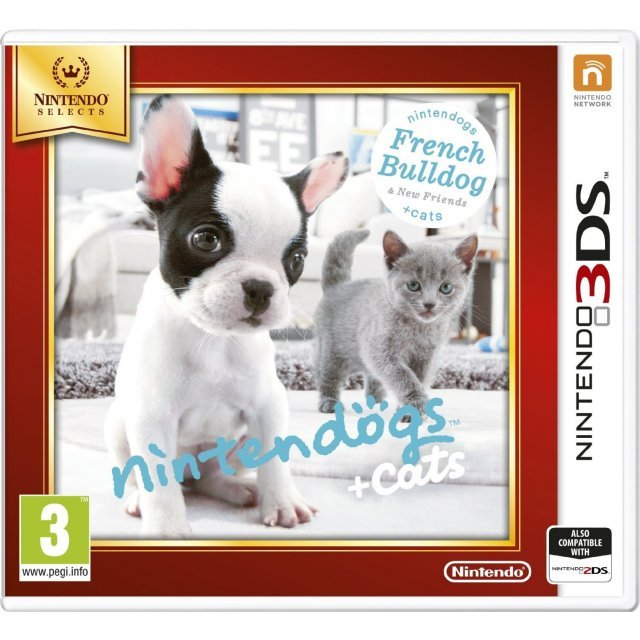 Nintendogs + Cats: French Bulldog & New Friends (Nintendo Selects)
