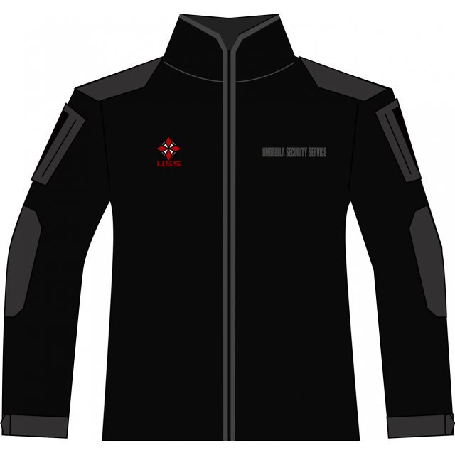 BIOHAZARD 20th BDU Long Sleeve Shirt and Pants Black S Size: Umbrella