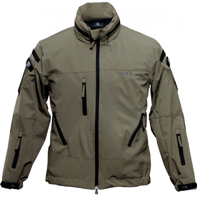 Biohazard BSAA Soft Shell Jacket Khaki (XL Size)