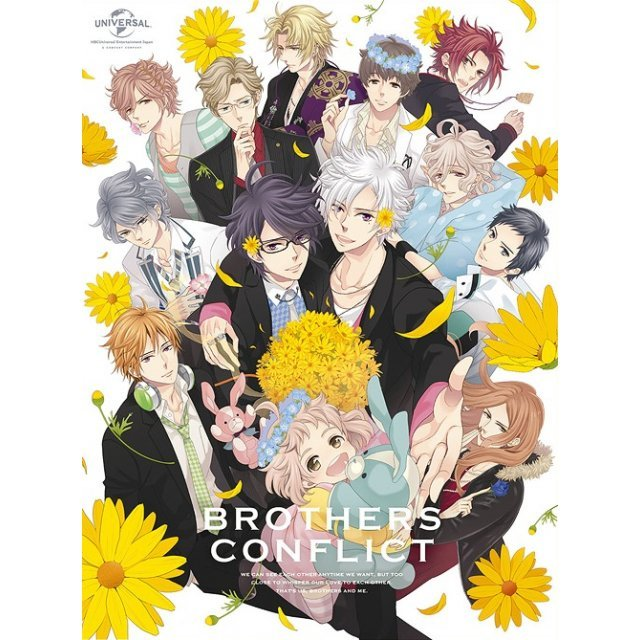 Brothers Conflict Dvd Box [Limited Edition]