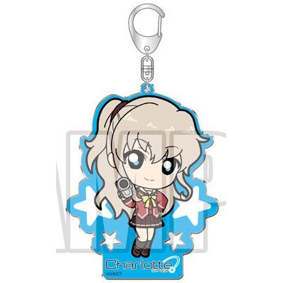 Charlotte Acrylic Key Ring: Tomori Nao