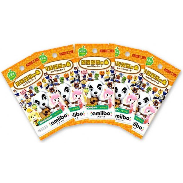 Doubutsu no Mori amiibo Card Vol.2 (5 pack)