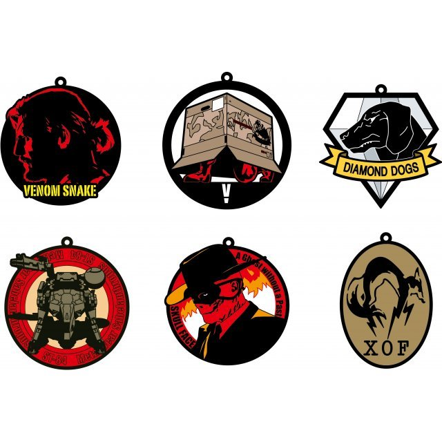 Imaging Rubber Collection Metal Gear Solid V The Phantom Pain (Set of 6 pieces)