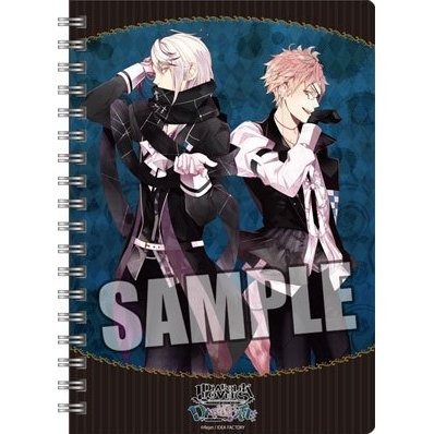 Diabolik Lovers DARK FATE Ring Notebook B6 W: Tsukinami