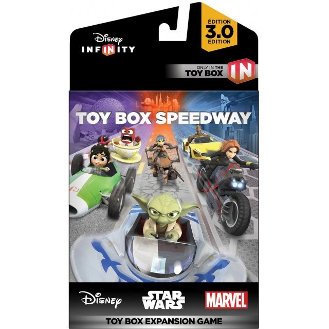 Disney Infinity 3 0 Edition Toy Box Speedway Toy Box